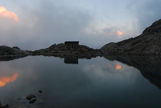Atardecer en el Lago Blanco