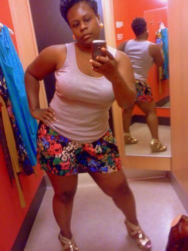 Floral Shorts Sassy