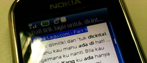 Kenangan Nokia 6233