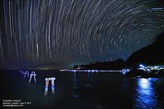 Starry Night (bongbajo) Tags: landscape star south bajo astrophotography nightshots bong quezon nightscapes startrail sannarciso mulanay bondocpeninsula starphotography bongbajo photobong