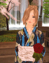 MNK+ROZENA+DURA 2 (Licht Lapis) Tags: hair skin location yukata dura rozena mnkshop
