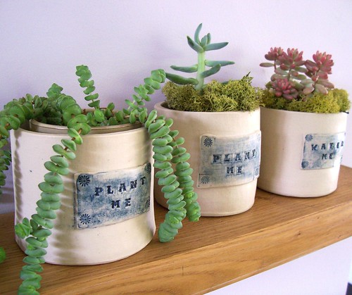 water me & plant me containers by littlebrickhouse