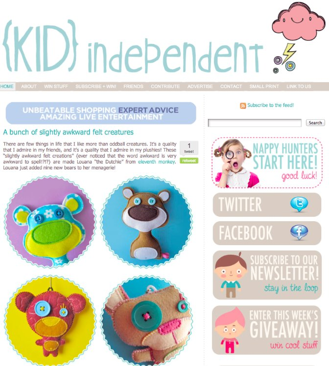 Feature on Kid Independent