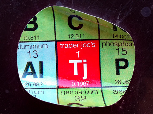 Who Knew Traderjoenium Was Right Above Germanium in the Periodic Table?