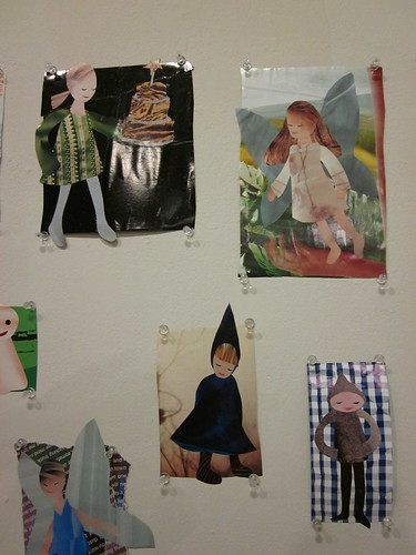Some of my collages at ATHICA.
