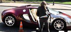 Supercar seizure in Paris (nARCOTO) Tags: gun president police bugatti veyron 669 guinee equatoriale