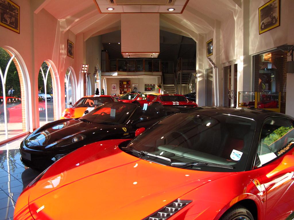 Meridien Modena Lyndhurst Ferrari And Maserati Dealership