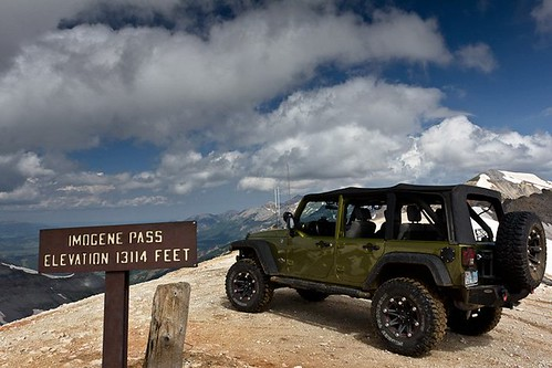 Lee's Jeep - Imogene