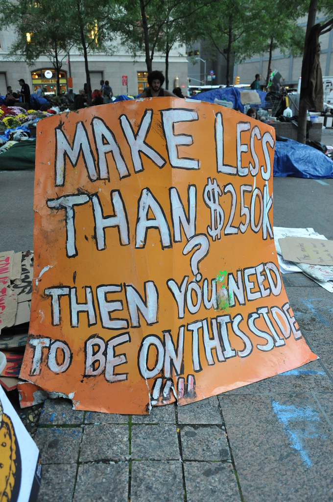 Occupy Wall St. Signs