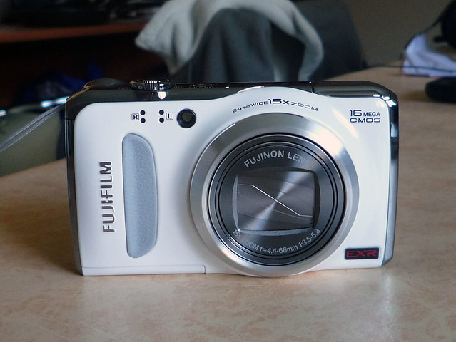 Finepix F500EXR blanc