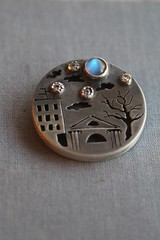 Sleeping Moscow pendant (vikafogallery) Tags: