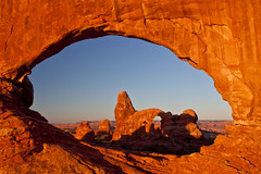 (jonmartin ()) Tags: park morning usa nature ecology america dawn golden utah us nationalpark sandstone scenery rocks arch unitedstates wind events unitedstatesofamerica structures erosion event land northamerica moab environment activity archesnationalpark environmentalism goldenhour activities ecosystem eroding arched soilerosion aircurrents 06000000 06007000 cvkc