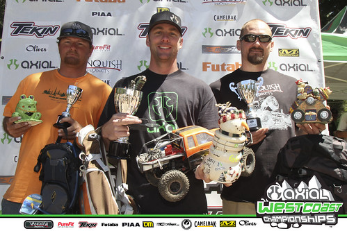 Axial SCX10 Recon G6 Challenge Winners: Thom Kowatch, John Ripplinger, Andy Berryman