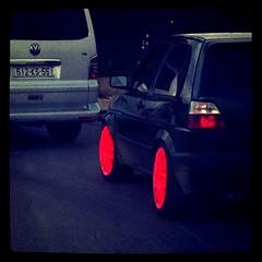 Look at my wheels y'all