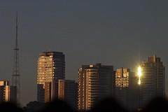 Sunset (Sit Kong Sang) Tags: sunset sky cloud sun sol sunshine brasil sopaulo nuvens fractal nuvem canoneos