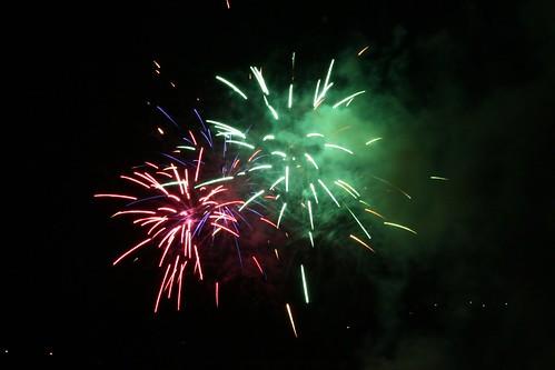 Disco fireworks