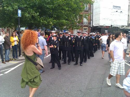 Navy column