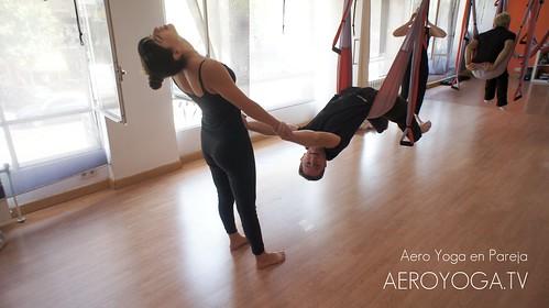 Yoga en Pareja en el Aire. Madrid 91 457 22 15