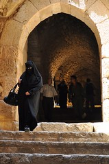 Interior. (young shanahan) Tags: ajloun castle ajlouncastle northernjordan hijab niqab