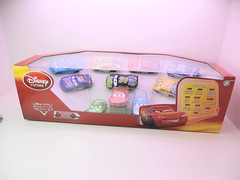 disney cars disney store racer v1 10 car set (1) (jadafiend) Tags: disney cars2 disneystore exclusive lightup 10car 4car sets lightningmcqueen theking chickhicks transberryjuice nostall rpm64 easyidle clutchaid jeffgorvette nigelgearsley raoulcaroule spyshootout siddley finnmcmissle lewishamilton miguelcamino maxschnell trunkfresh dinoco diecast scale model animation movie cars sidewallshine playset kids adults collectors