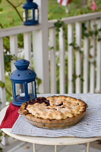 Blueberry Corn Pie