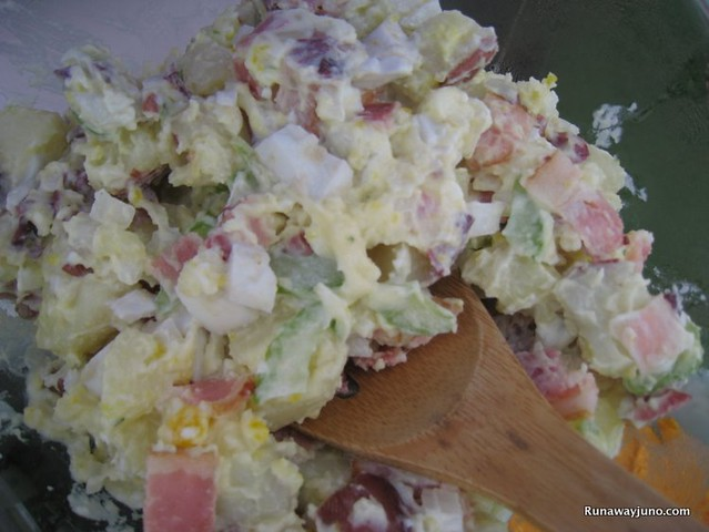 Our Kickass potato salad