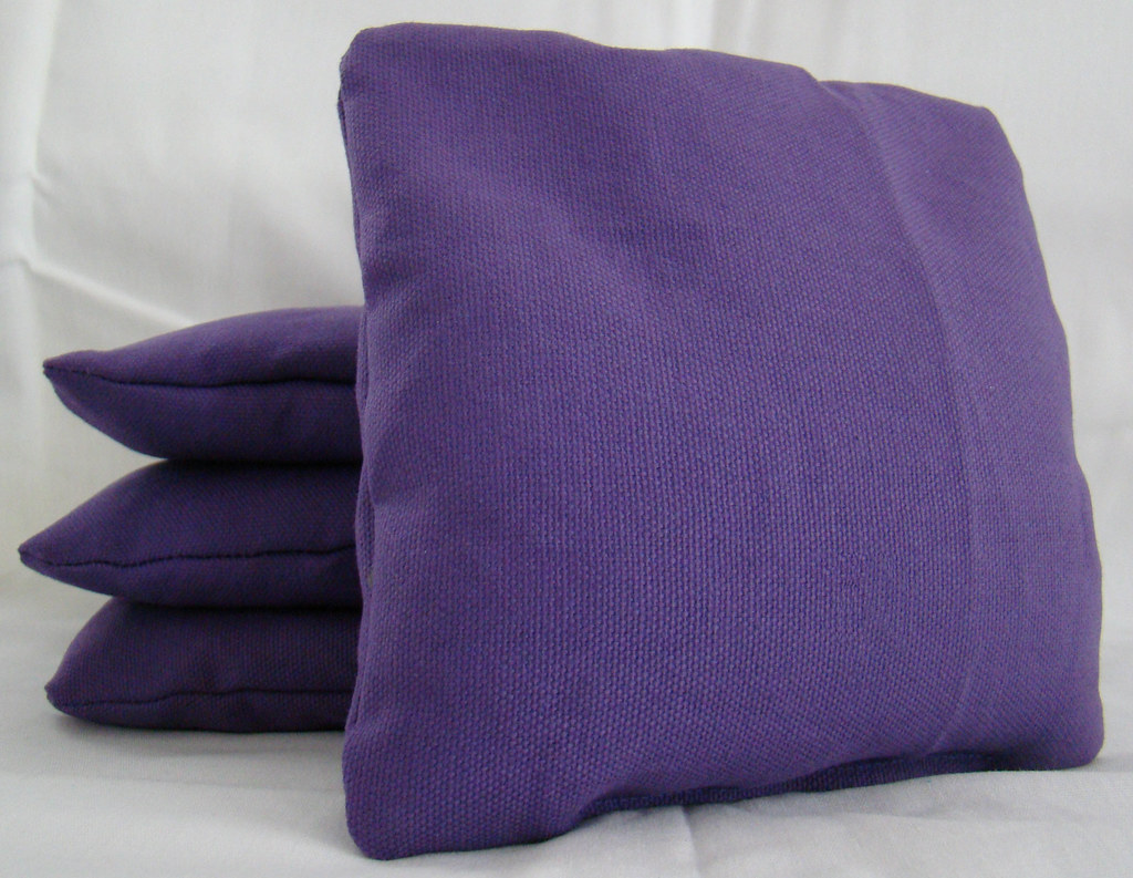 Awesome Purple Cornhole Bags Lamtechconsult Wood Chair Design Ideas Lamtechconsultcom