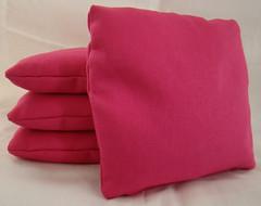 Hot Pink Cornhole Bags