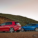 VW Scirocco R & Golf GTi R: pretty rear ends