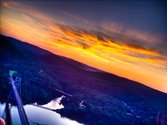 IMG_0109_10_11_tonemapped (garritron) Tags: bridge sunset newyork river bearmountain hudson hdr