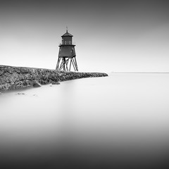 Groyne Lighthouse (Jeff Vyse) Tags: sea lighthouse pier minimal groyne