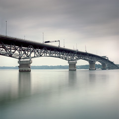 gloucester point, va (Plimber) Tags: longexposure bridge 120 film zeiss mediumformat virginia kodak hasselblad filter yorktown epson 60mm cb graduated gossen ektar 501cm gloucesterpoint v700 digisix neutraldensity 3stop 10stop nd110 anthropocene