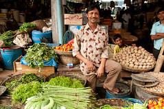 Vegetables and Smiling People at Srimongal Market - Bangladesh (uncorneredmarket) Tags: people man kids market vendor bangladesh freshmarket foodmarket srimongal sylhetdivision sreemangal
