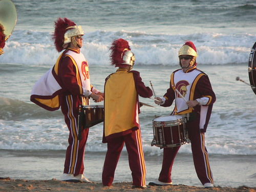 USC Marching Band Venice Beach