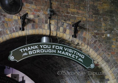 Borough Market Sign