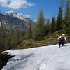 Kanitha crossing the late May snow (B℮n) Tags: park blue shadow wild sky sun snow mountains alps green nature water walking landscape geotagged heidi austria golden spring woods rocks afternoon eagle farmers hiking farm wildlife meadows falls adventure evergreen alpine national valley goldenvalley gras rays peaks lush spar spruce larvae finest seekers marmots hohe rauris lariks naturfreundehaus primeval unspoilt tauern kolmsaigurn hohersonnblick rauristal ritterkopf bartgeier beardedvulture 1650m naturfreundeweg bucheben 3106m dastaldergeier highsonnblick kolmsaigum geo:lon=12985840 geo:lat=47055856