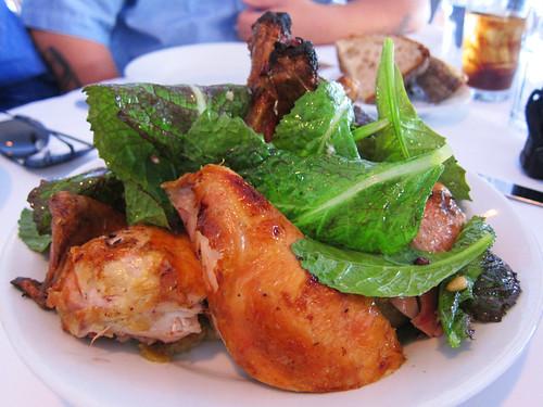 Dinner at Zuni Cafe