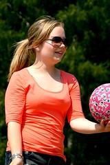 Passing (belissah) Tags: summer beach girl ball suomi finland bea volley sommar kes ranta beachvolley flicka pallo nyr loviisa snellman tytt lny lentopallo belissah