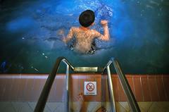 No diving (36/365) (Fang Tong) Tags: blue boy feet water pool kids swimming project nikon bc diving victoria days 365 tong fang