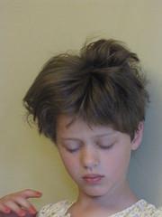 Narcoleptic Kaia (Kazz.0) Tags: hair sleepy crazyhair bedhead kaia pixiehaircut narcoleptic pixiecut nicknoltemugshot nicknoltemugshothair