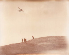 Kite Flying & Seaplane (sweetnseattle) Tags: seattle spectra roidweek silvershade impossibleproject pz600