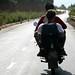 25km em uma moto-taxi