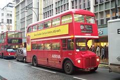 Arriva London RM664 (WLT 664) Oxford Street 11/2/02 (jmupton2000) Tags: london buses transport routemaster rm arriva aec rml wlt664