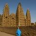 Impressionantes mesquitas de barro