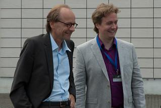 Dietmar Thate und Markus I.