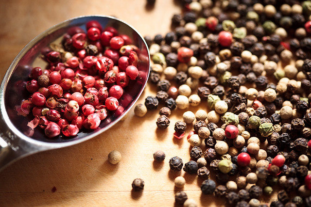 Pink Peppercorns shot with Daylight White Balance