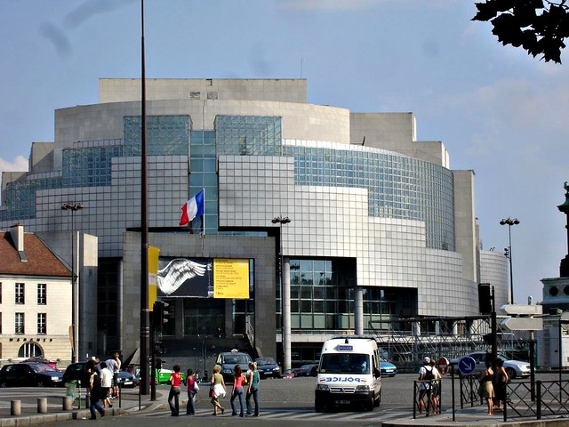 New Opera, place Bastille