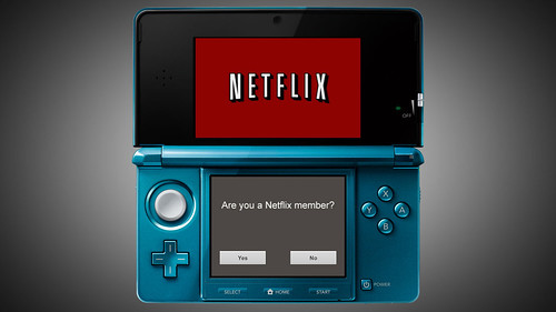Netflix Nintendo 3DS Screen