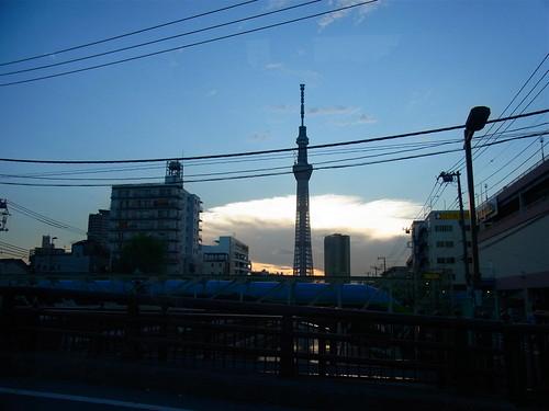 東京タワーです。