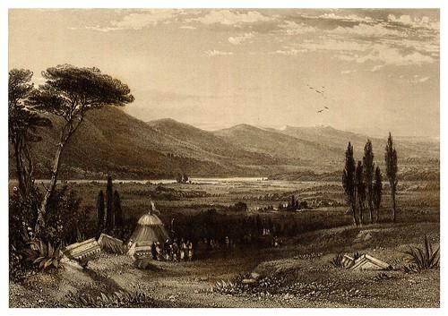 011-Montes Olimpo y Ossa-La Grèce pittoresque et historique 1841- Christopher Wordsworth-© Biblioteca de la Universidad de Heidelberg